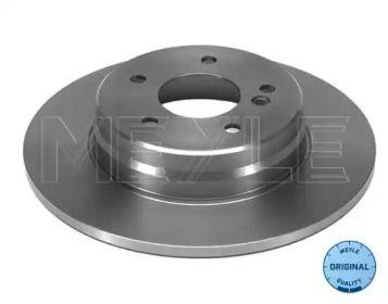 Задній гальмівний диск на Mercedes-Benz W210 MEYLE 015 523 0022.