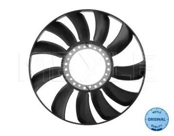 Крыльчатка вентилятора охлаждения двигателя на VOLKSWAGEN PASSAT 'MEYLE 100 121 0071'.