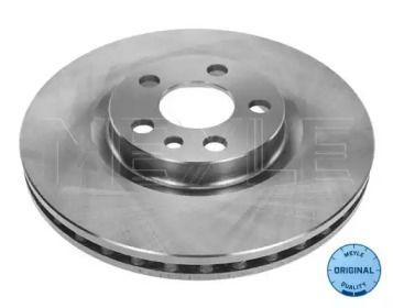 Вентилируемый передний тормозной диск на LANCIA ZETA 'MEYLE 11-15 521 0006'.