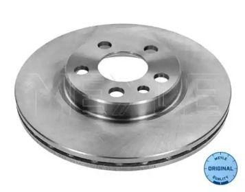 Вентилируемый передний тормозной диск на PEUGEOT EXPERT 'MEYLE 11-15 521 0015'.