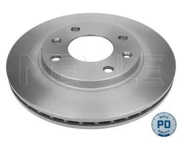 Вентилируемый передний тормозной диск 'MEYLE 11-15 521 0031/PD'.