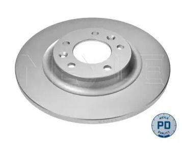 Задний тормозной диск на PEUGEOT RCZ 'MEYLE 11-15 523 0009/PD'.