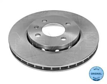 Вентилируемый передний тормозной диск на Фольксваген Ап 'MEYLE 115 521 0006'.