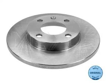 Передний тормозной диск на Фольксваген Пассат MEYLE 115 521 0029.