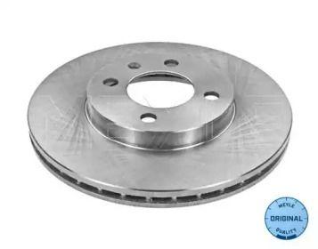 Вентилируемый передний тормозной диск 'MEYLE 115 521 1006'.