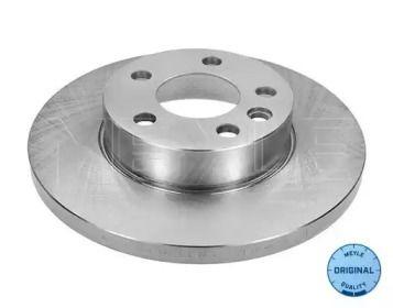 Передний тормозной диск 'MEYLE 115 521 1036'.