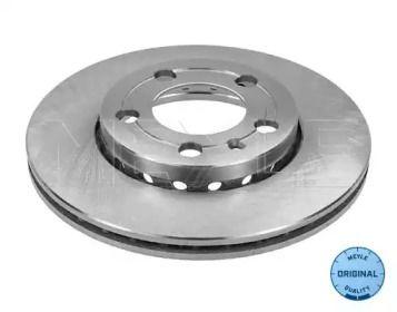 Вентилируемый передний тормозной диск 'MEYLE 115 521 1056'.