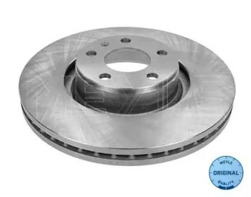 Вентилируемый передний тормозной диск на AUDI A6 ALLROAD 'MEYLE 115 521 1098'.