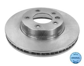 Вентилируемый передний тормозной диск на Порше Кайен 'MEYLE 115 521 1102'.