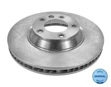 Вентилируемый передний тормозной диск на PORSCHE CAYENNE 'MEYLE 115 521 1103'.
