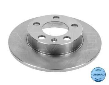 Задний тормозной диск на Ауди ТТ 'MEYLE 115 523 0037'.