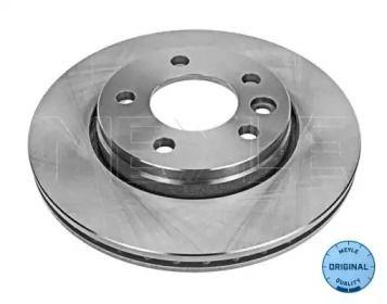 Вентилируемый задний тормозной диск на VOLKSWAGEN MULTIVAN 'MEYLE 115 523 0020'.
