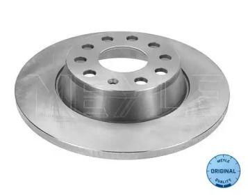 Задний тормозной диск на Ауди Ку3 'MEYLE 115 523 0025'.