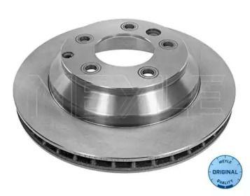 Вентилируемый задний тормозной диск на Порше Кайен 'MEYLE 115 523 0041'.