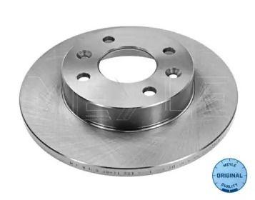 Передний тормозной диск на RENAULT SANDERO 'MEYLE 16-11 521 0001'.