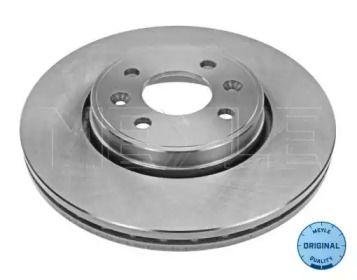 Вентилируемый передний тормозной диск на Дача Докер 'MEYLE 16-15 521 0004'.
