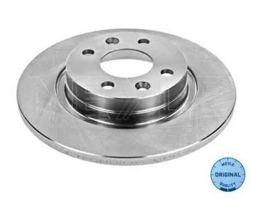 Передний тормозной диск 'MEYLE 16-15 521 0005'.
