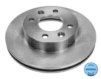 Вентилируемый передний тормозной диск на Дача Соленза 'MEYLE 16-15 521 0017'.
