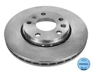 Вентилируемый передний тормозной диск на Дача Дастер 'MEYLE 16-15 521 0040'.