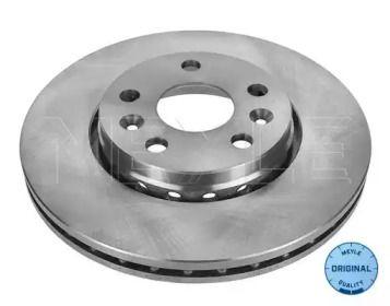 Вентилируемый передний тормозной диск на Мерседес Цитан MEYLE 16-15 521 0042.