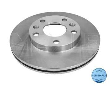 Вентилируемый передний тормозной диск на Дача Дастер 'MEYLE 16-15 521 0028'.
