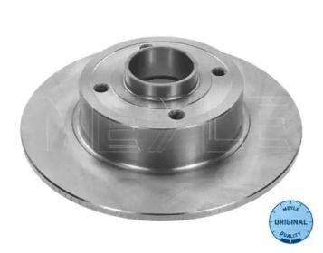 Задний тормозной диск на Рено Модус 'MEYLE 16-15 523 0016'.