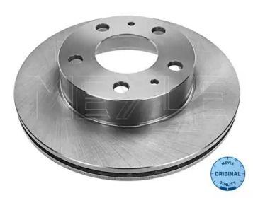 Вентилируемый передний тормозной диск на CITROEN JUMPER 'MEYLE 215 521 0003'.