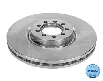 Вентилируемый передний тормозной диск на IVECO DAILY 'MEYLE 215 521 0023'.