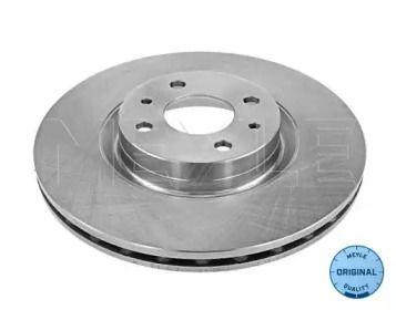 Вентилируемый передний тормозной диск на LANCIA LYBRA 'MEYLE 215 521 2007'.
