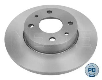 Задний тормозной диск на ALFA ROMEO 33 'MEYLE 215 523 0005/PD'.