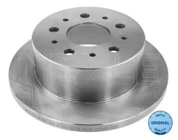 Задний тормозной диск на Ситроен Джампер 'MEYLE 215 523 0012'.