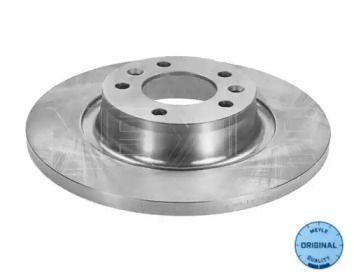 Задний тормозной диск на Пежо Експерт 'MEYLE 215 523 0029'.