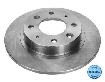 Задний тормозной диск на KIA CARENS 'MEYLE 28-15 523 0002'.