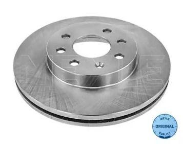 Вентилируемый передний тормозной диск на CHEVROLET LACETTI 'MEYLE 29-15 521 0000'.