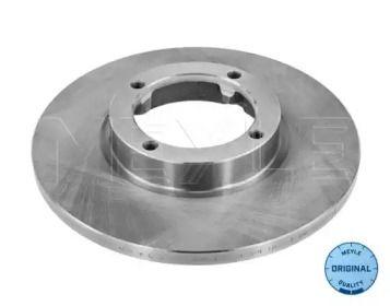 Передний тормозной диск на DAEWOO MATIZ 'MEYLE 29-15 521 0001'.