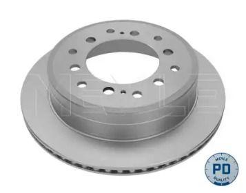 Вентилируемый задний тормозной диск на LEXUS GX 'MEYLE 30-15 523 0109/PD'.