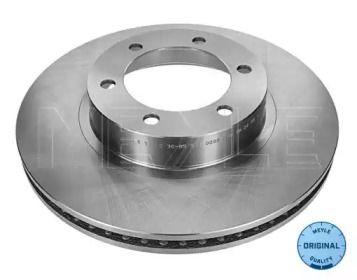 Вентилируемый передний тормозной диск на Лексус Джи Икс 'MEYLE 30-15 521 0129'.