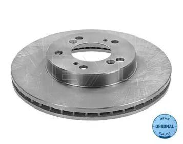 Вентилируемый передний тормозной диск на Хонда НРВ 'MEYLE 31-15 521 0016'.