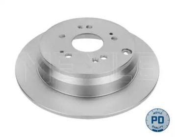 Задний тормозной диск на HONDA CR-V 'MEYLE 31-15 523 0056/PD'.