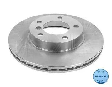 Вентилируемый передний тормозной диск на БМВ З3 'MEYLE 315 521 3011'.