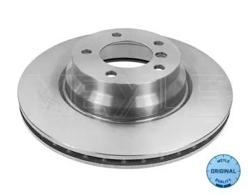 Вентилируемый передний тормозной диск на BMW X1 'MEYLE 315 521 3064'.