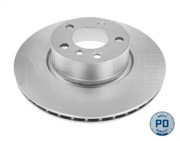 Вентилируемый задний тормозной диск на БМВ Х4 'MEYLE 315 523 0029/PD'.