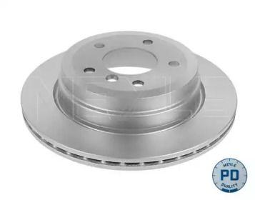 Вентилируемый задний тормозной диск на БМВ Х1 'MEYLE 315 523 0050/PD'.