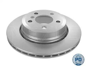 Вентилируемый задний тормозной диск на БМВ Х3 'MEYLE 315 523 0054/PD'.