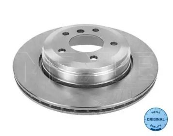 Вентилируемый задний тормозной диск на БМВ 6 'MEYLE 315 523 0047'.