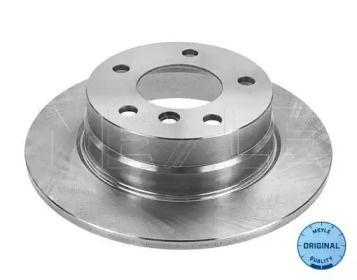Задний тормозной диск на БМВ 1 'MEYLE 315 523 0048'.