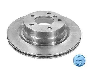 Вентилируемый задний тормозной диск на БМВ 2 'MEYLE 315 523 0049'.