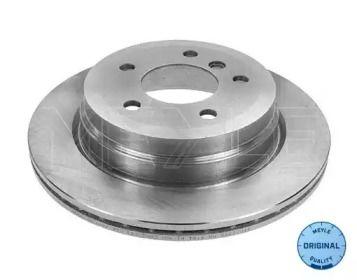 Вентилируемый задний тормозной диск на БМВ Х1 'MEYLE 315 523 0050'.