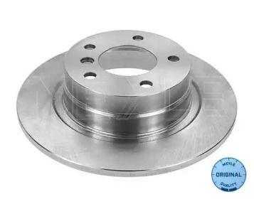 Задний тормозной диск на БМВ 1 'MEYLE 315 523 0053'.