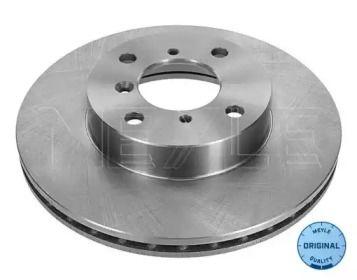 Вентилируемый передний тормозной диск на SUZUKI LIANA 'MEYLE 33-15 521 0011'.